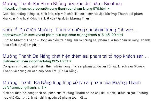 Báo chí tấn công Mường Thanh cũng đóng file lại đi