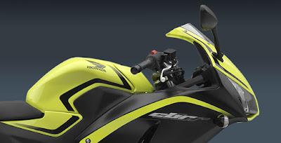 2016 Honda CBR300R fuel tank