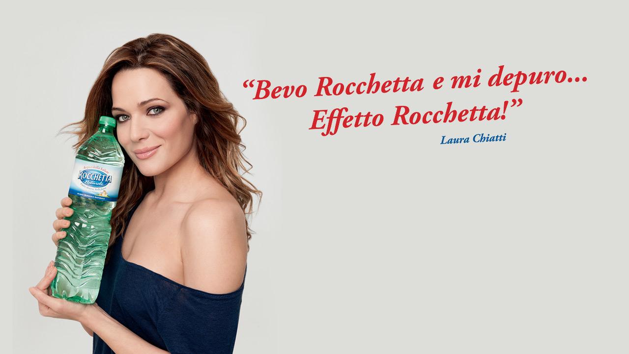 Nome modella Rocchetta (acqua) con Foto - Testimonial Spot Pubblicitario Rocchetta 2016