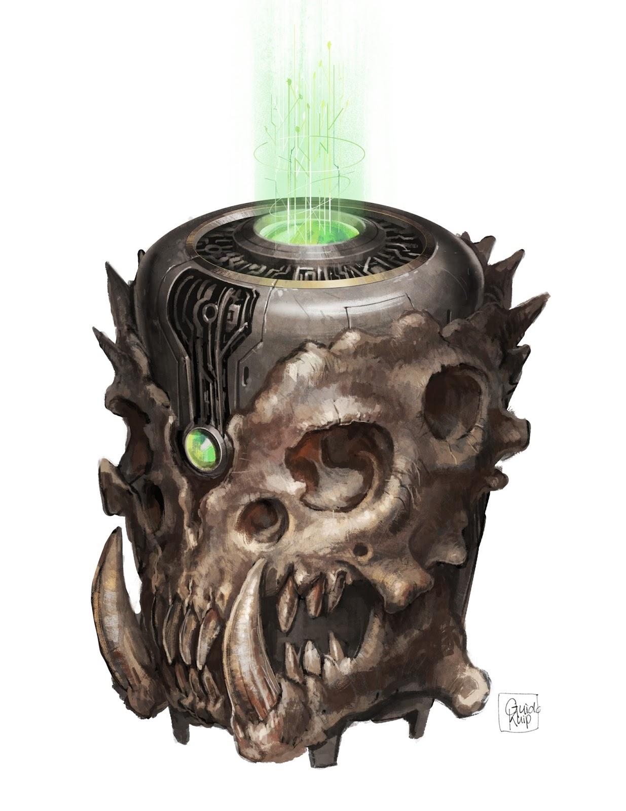 Guido Kuip: Interior art - Paizo Games/ Starfinder Alien