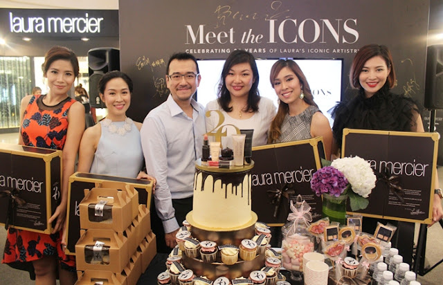 Laura Mercier Iconic Products, Laura Mercier Meet the ICONS, Laura Mercier 20th Anniversary