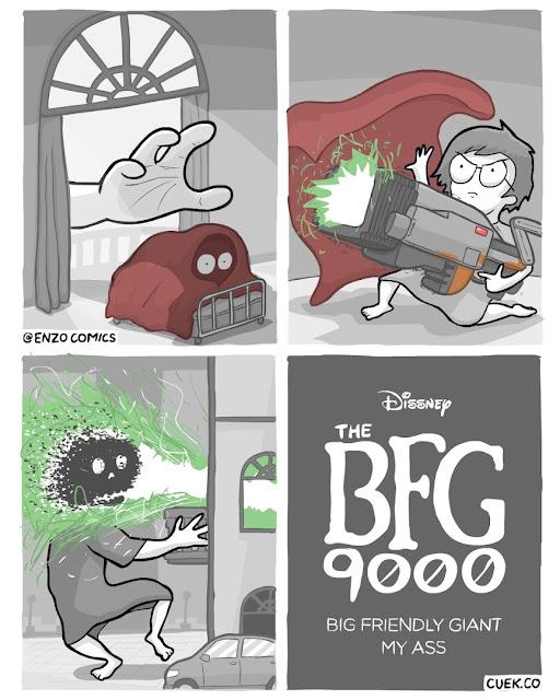 Big Friendly Giant é o baralho