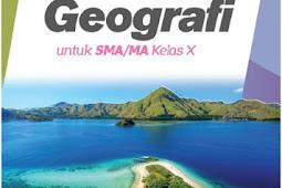 Materi Geografi Kelas 10 Semester 1 dan 2 Kurikulum 2013