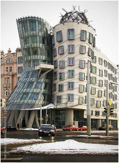 The Dancing House or Ginger & Fred Building (New Town, Prague)