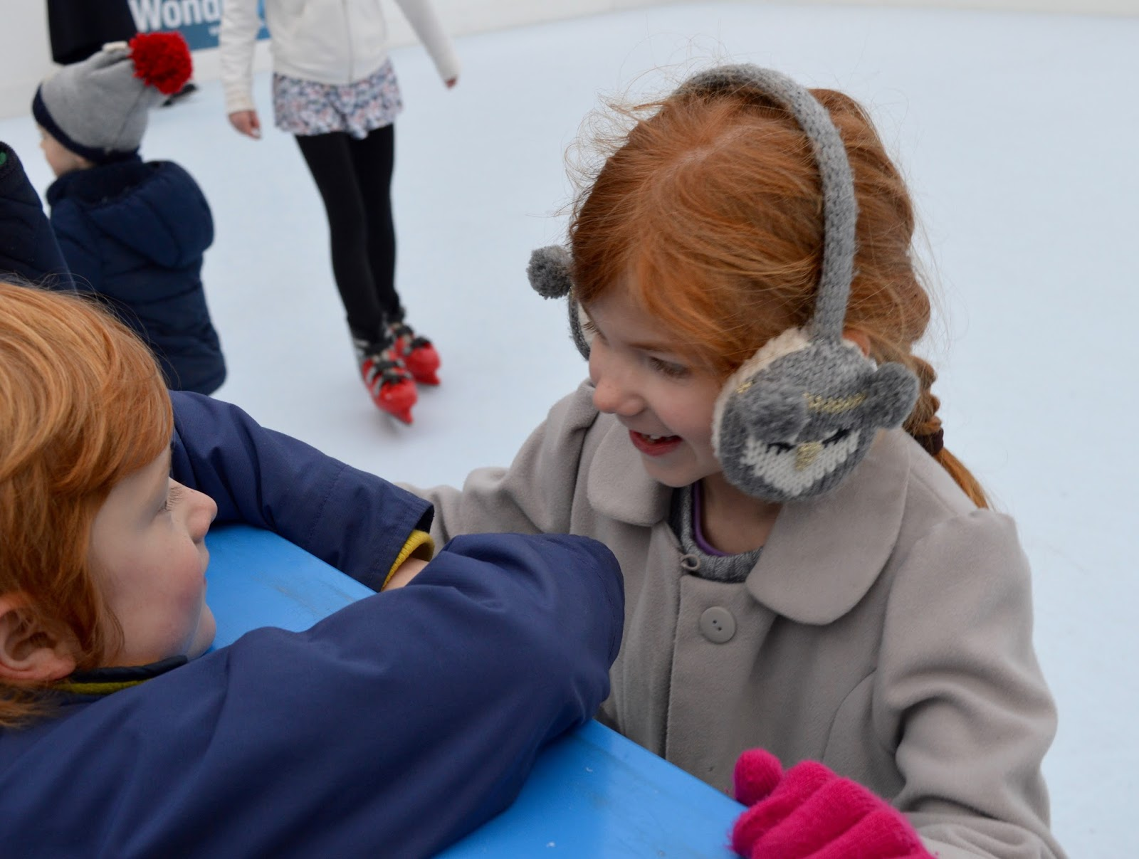 Frost of Forgetfulness | A FREE Winter Trail and activity at Woodhorn Museum in Northumberland (continues until 23rd December) - synthetic skating rink