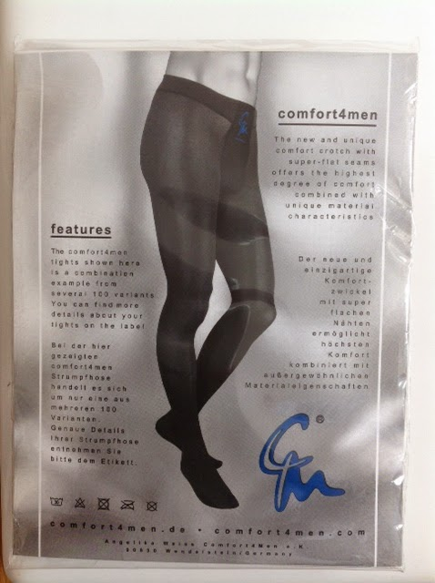 a92f1df2ec The C405M 70 Denier Opaque Men's Tights are available in high-waist and  low-waist styles. My preference is usually for the high-waist style in  Comfort4Men ...