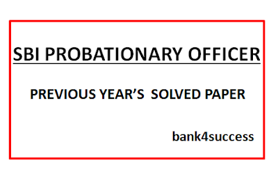 30+ SBI PO Previous Year Question Papers PDF Free Download