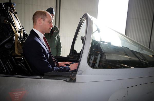 Wizyta księcia Williama w RAF Coningsby