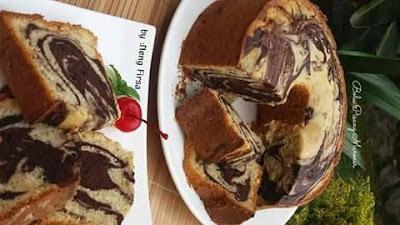 Resep Kue Bolu Pisang Marmer Lengkap