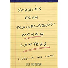 cover art - Stories from Trailblazing Women Lawyers