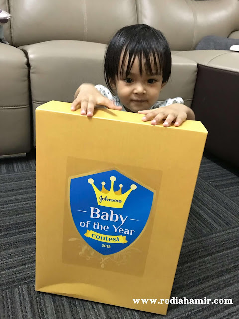 Johnson's® Baby of the Year Pertandingan