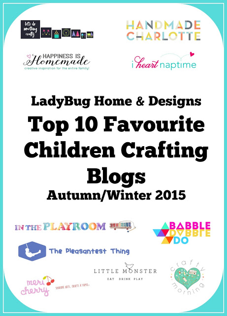 Top 10 Favourite Children Crafting Blogs