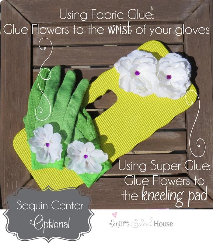 Pretty Gardening Accessories (directions) #DIY #Gardening #Spring