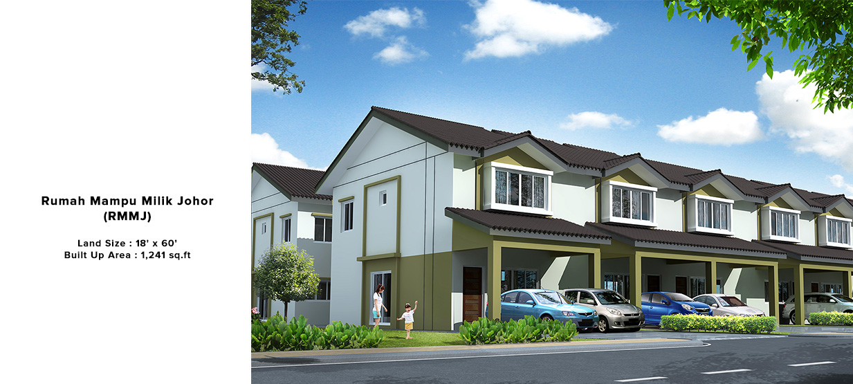 Rumah Mampu Milik Taman Scientex Pasir Gudang Johor Cute766