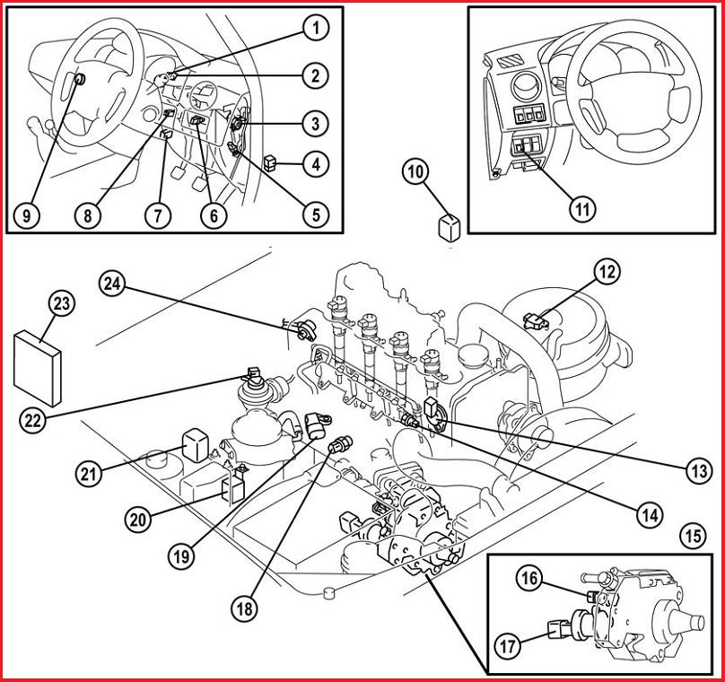 TECHNIC AUTO CAR: MAZDA BT-50 (Engine Room)