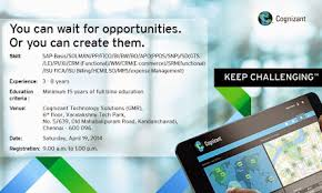 Cognizant BPS Job Opportunity