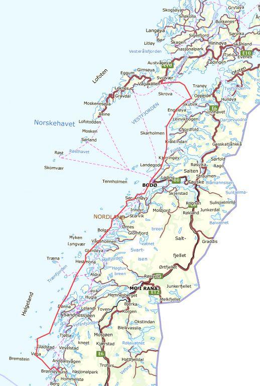 vega kommune kart Ute på Tur: juli 2013 vega kommune kart