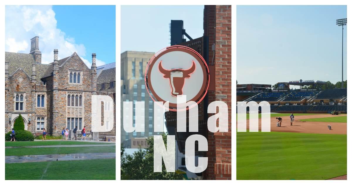Duke University et Durham downtown