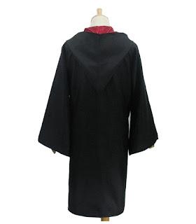 Harry Potter costume mantella + cravatta sciarpa + occhiali + bacchetta magica maschera carnevale travestimento cosplay bambini misura taglia età 7 8 9 10 11 12 13 anni