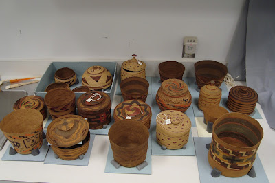 Conservation, repair, preservation and stabilization of antique, historic and old baskets, Native American culture, heritage, department of the interior collection.