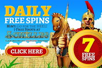 Signup at Planet7, deposit and enjoy 14 Free Spins daily