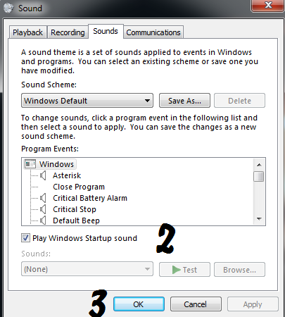 How to stop Windows startup sound - Windows Quick Tips