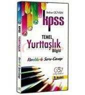 KPSS Temel Yurttaşlık Bilgisi Renklerle Soru Cevap / Serhat Güven / 657 Yayınevi