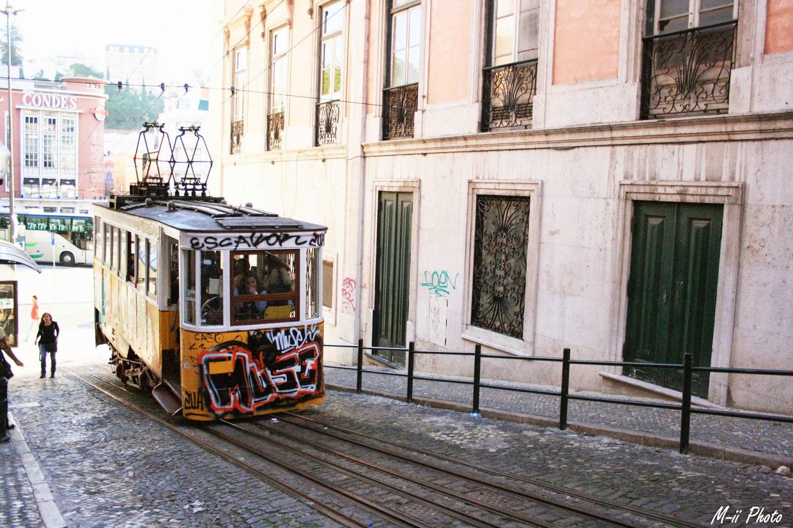 M-ii Photo : 10 choses à faire à Lisbonne Elevator da Gloria - Bairro Alto
