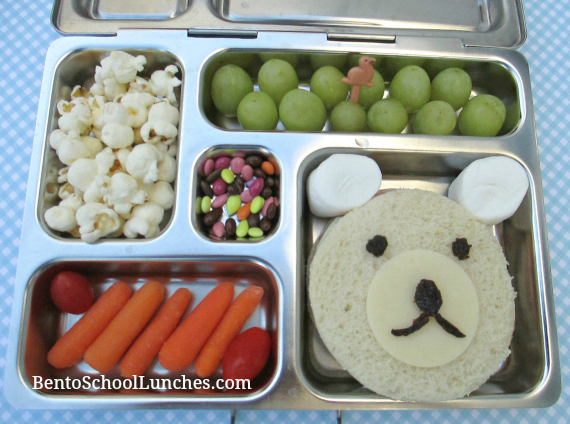 Polar bear, bento school lunches