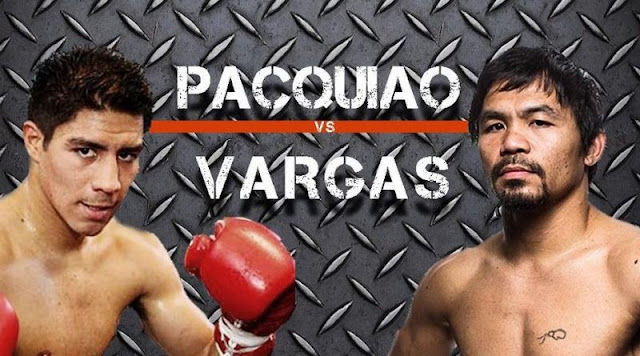 Manny Pacquiao vs Jessie Vargas Watch free Livestream