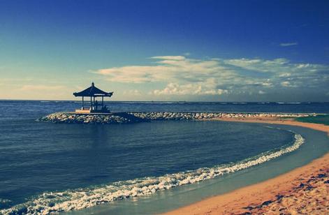 Tempat wisata pantai sanur di bali