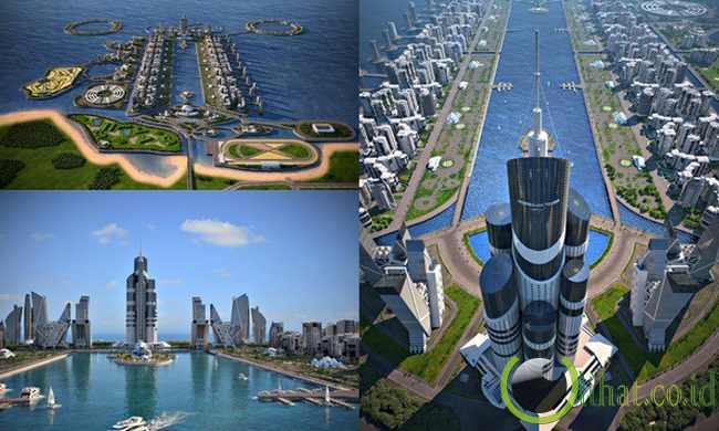 Pulau Khazar - Azerbaijan