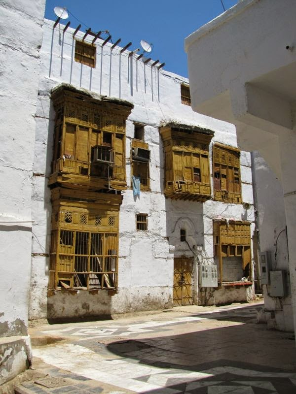 Saudi Arabia Coral Houses Of Jeddah S Old Town Minor Sights