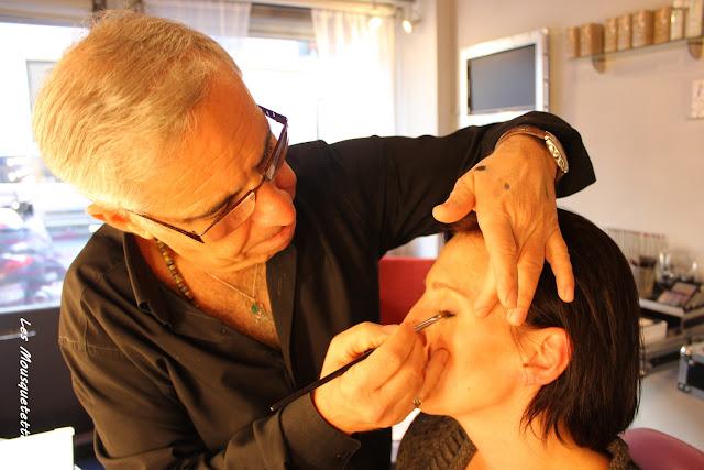 Céline est maquillée par Georges Demichelis - Les Mousquetettes©