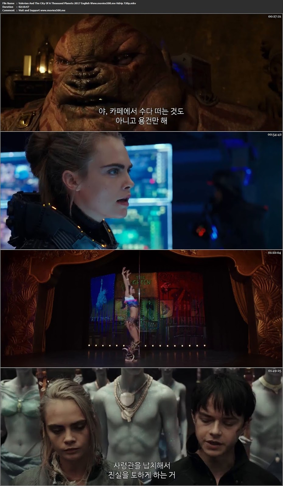 Valerian And The City Of A Thousand Planets 2017 English HDRip 720p at movies500.site