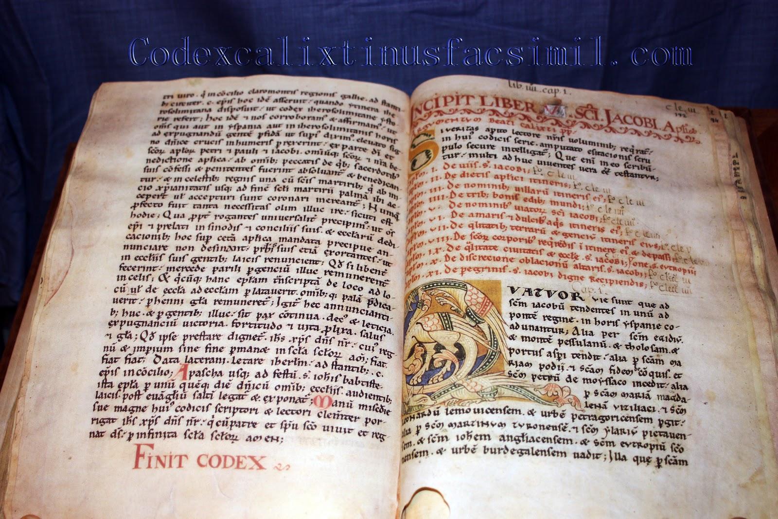 The English version of The Book V (Codex Calixtinus) | Codex