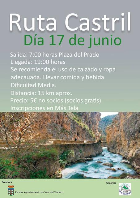 Ruta Senderista desde Villanueva del Trabuco al Río Castril