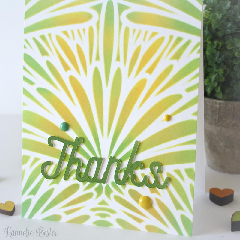 hero arts tropical background stencil