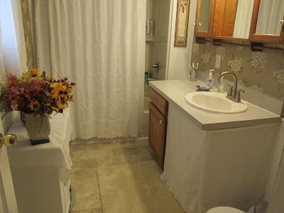 The After picture of the Bathroom