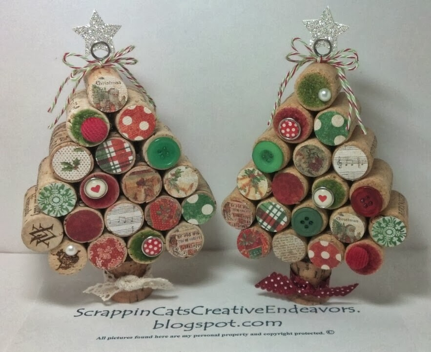 Wine Cork Christmas Tree.Welcome To Scrappin Cat S Creative Endeavors Wine Cork