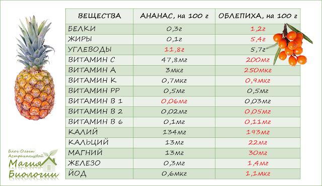 сибирский-ананас-сравнение-веществ-облепихи-ананаса