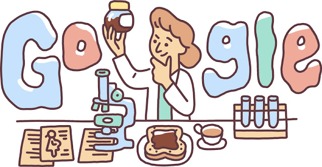 Google-Doodle-Celebrating-Lucy Wills' 131st Birthday