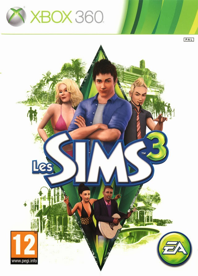 Los Sims 3 XBOX 360 ESPAÑOL (Region FREE) (XGD2) 1