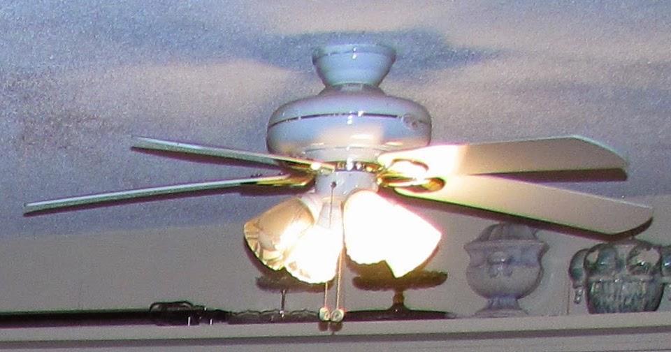 Terrance This Is Stupid Stuff Take Down Remove Hampton Bay Ceiling Fan 4 Light Unit Ac 552