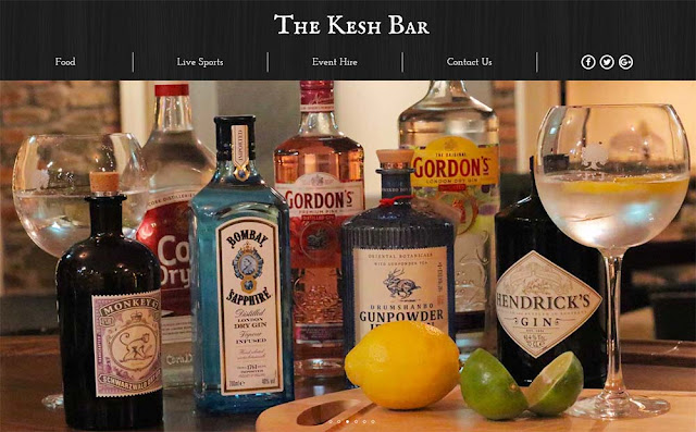 The Kesh Bar Cavan - Website by Opus Web Design Cavan