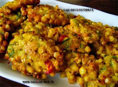 Resep bakwan jagung nasi box walini ciwidey
