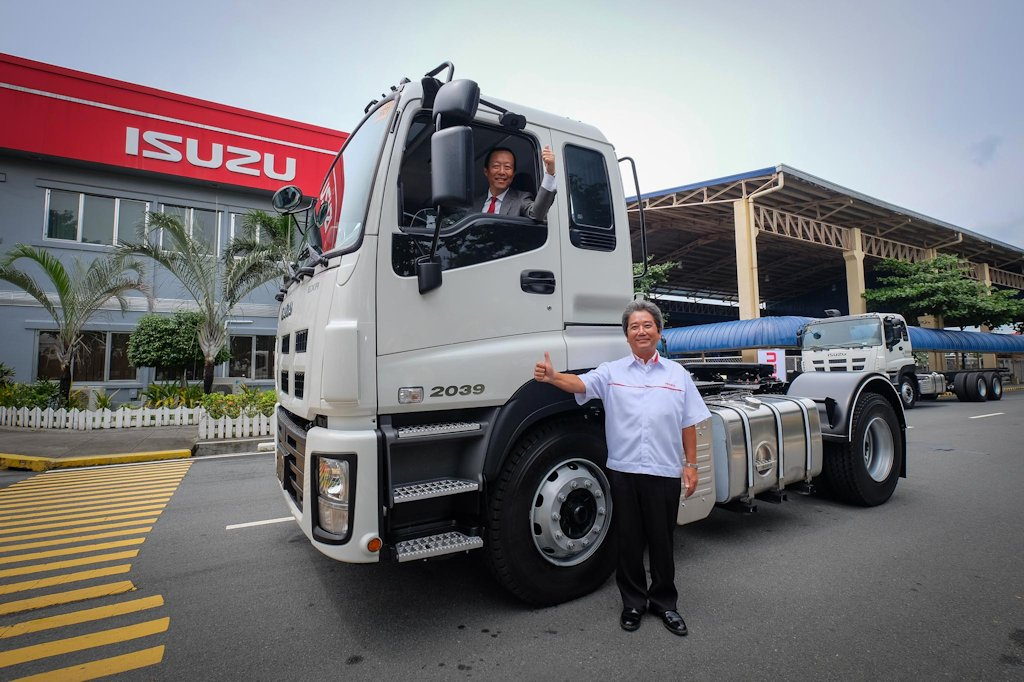 Isuzu Philippines Previews New Heavy Duty Trucks