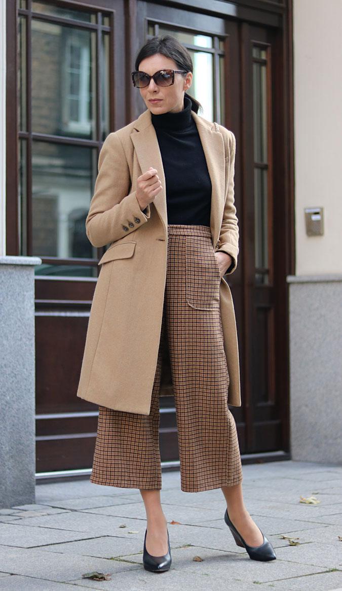 modne stylizacje na jesień 2018