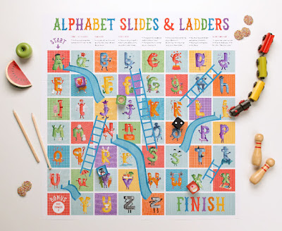 free printable snakes and ladders