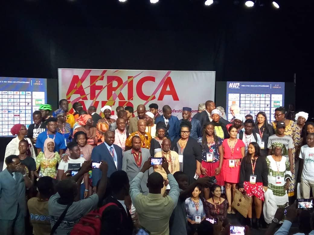 Clôture de l'Africa web festival 2018 #AWF2018